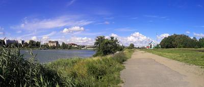 """Панорама """"у озера"""" Калининград"""
