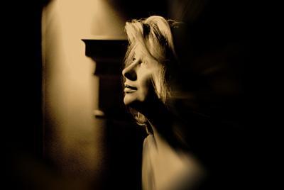 Пусть.... портрет женщина тени