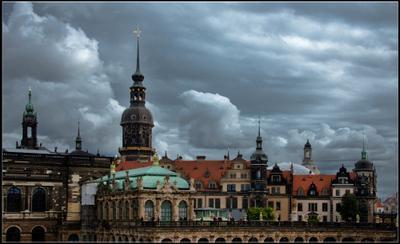 Осеннее небо Дрездена