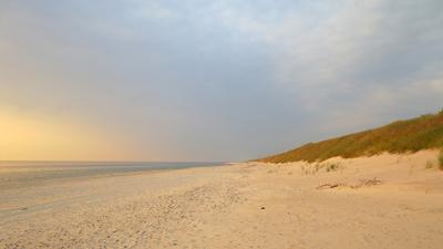 Спокойствие балтийское море дюны берег спокойствие