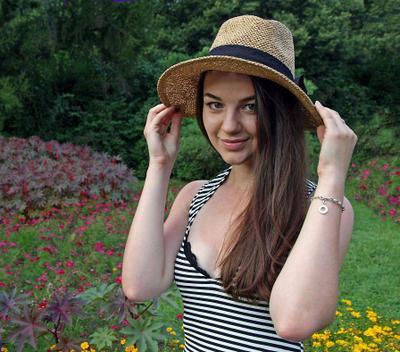 Шляпка Шляпка девушка