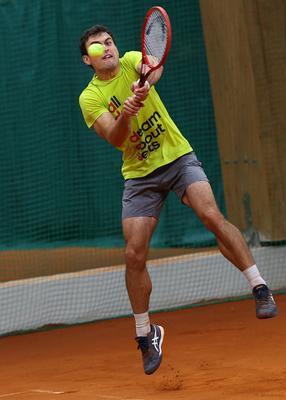 *** tennis big moscow Spartak russia racket ball court Alextennis Karatsev
