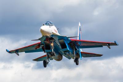 Вернулся авиабаза Кубинка Су-30СМ репетиция Парад