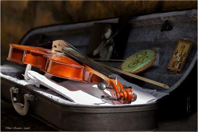 Музыка... (2) скрипка Viktor Rusakov projekt ноты