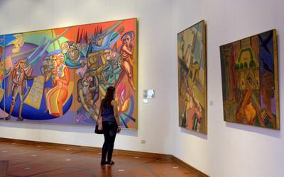 Ralli Museum. Кейсария. Экспозиция латино американских художников