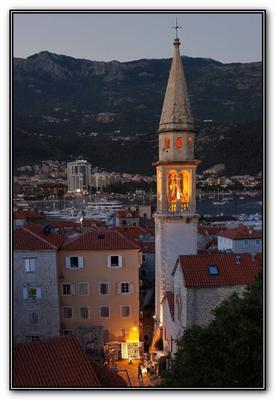Черногория. Будва. Старый град. Черногория Будва Старый град
