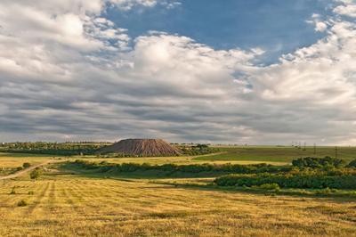 Донбасская степь и немножко природы Донбасс террикон