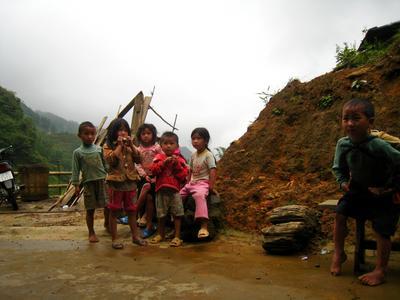 Дети Северного Вьетнама. Сапа.