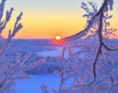 Утро заполярье крайний север Ненецкий автономный округ