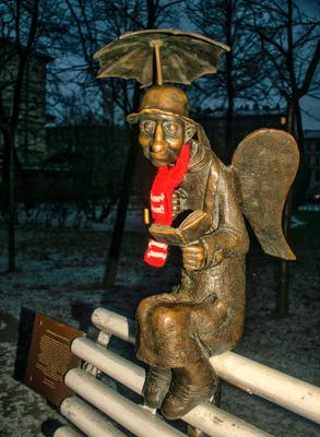 «Петербургский ангел» ангел Питер Измайловский парк