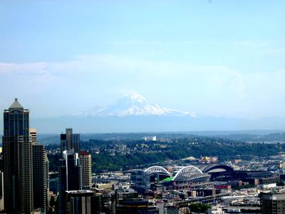Вулкан Рейнир Seattle USA volkano Rainir