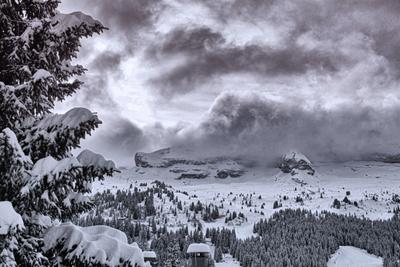 Ненастье в горах