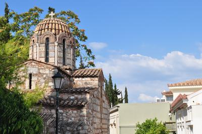 Церковь. Афины.