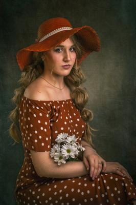 Дарья Б. девушка портрет камерный_портрет студия