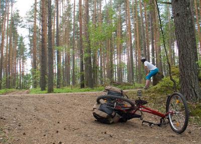 Поссорились  вело финляндия сайма