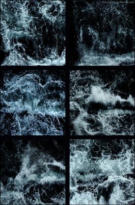Этюды Тирренского моря Неаполь море вода шторм глубина Тирренское