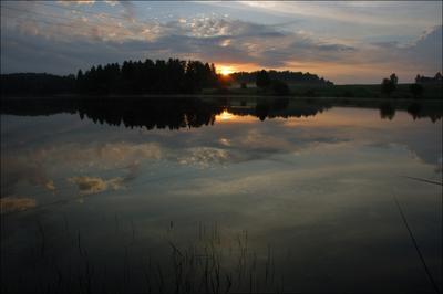 рыбацкая восход река