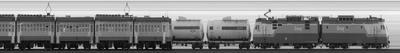 20200707 20:28 Скан встречи поездов близ Белоострова Скан Белоостров СПБ