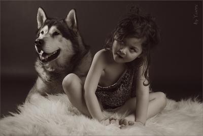 Маугли Маугли детеныш волк стая девочка
