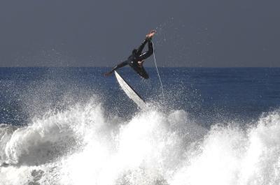Почти взлетел серфинг калифорния