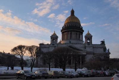 Исаакий Исаакиевский собор Санкт-Петербург