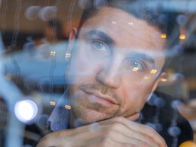 Reflection Москва Портрет Портретная фотография Постановка Мужчина Модель