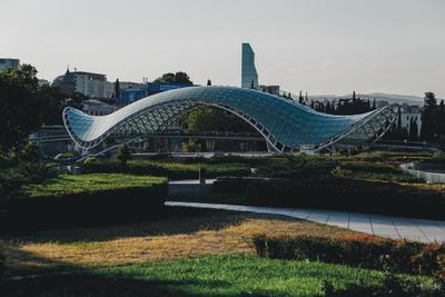 Мост Мира фото фотография photo тбилиси грузия