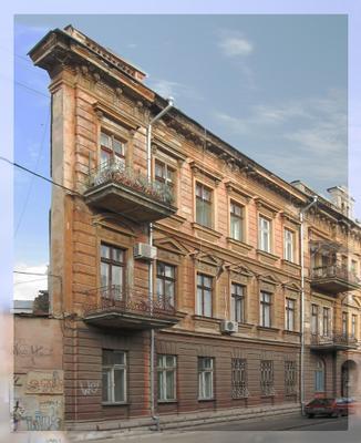 Уголок Одессы. угол дома в Одессе