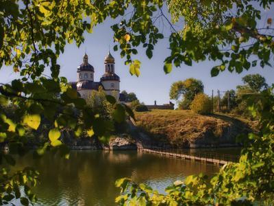 *** река Рось Стеблев