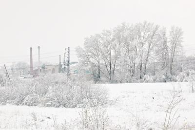 Майская зима Май снег 9мая