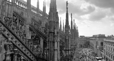 Duomo di Milano город путешествие Милан