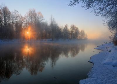 Морозное утро... Шатура