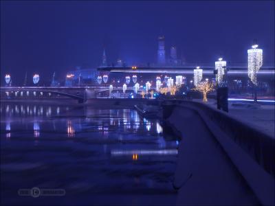 Спокойной ночи, любимый Город! ночь штатив выдержка город фиоллентоваяночнушка