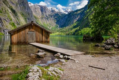 Бавария. Озеро Оберзее.