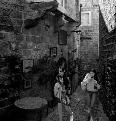 In old Jaffa