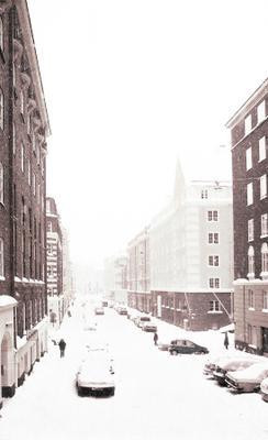 Far away Город, улица, снег, зима
