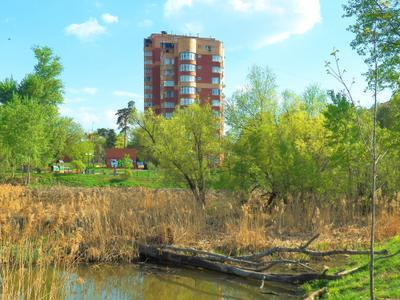 ***Мытищи, Яуза, весна (1) Moscow весна Яуза Мытищи