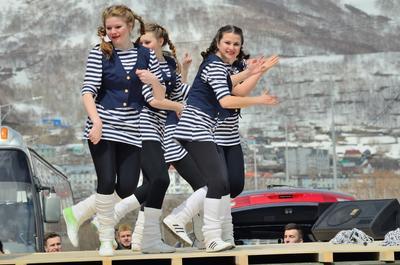Танец камчатка репортаж праздник танец
