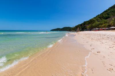 на пляже Бай Сао 2 Вьетнам о Фукуок море