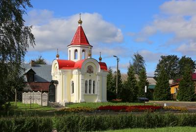 Город Мышкин. Часовня Святого Георгия Победоносца. мышкин георгий победоносец часовня круиз жуков