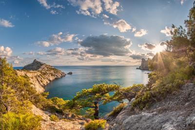 Голубая(Царская) бухта.Новый Свет. Крым море бухта Новый свет