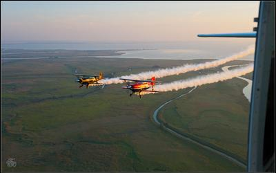 Летали как-то пофотографироваться... Жосс Бомон Pitts полёт