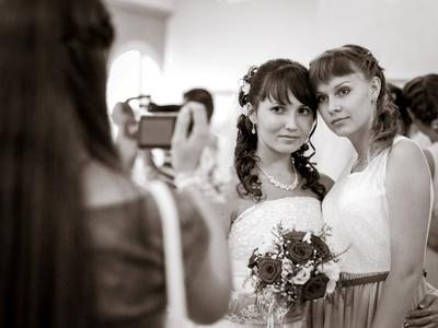 *** портрет чб жанр свадьба