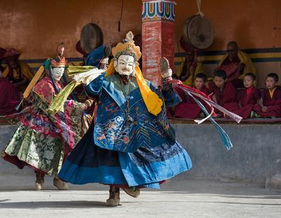 Танец ЦАМ Индия Ламаюра