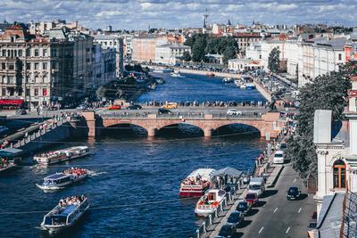 Летний Санкт-Петербург. Вид на Северную Венецию