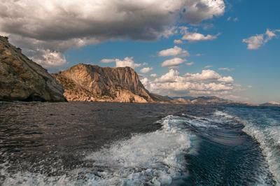 Новый Свет, Крым. По дороге на царский пляж