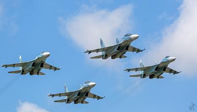 Соколы России КнААЗ Соколы Су-27 Су-30