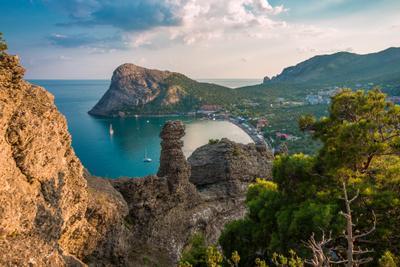 Новый Свет.Бухта Зелёная. Крым Новый Свет море горы скалы корабли