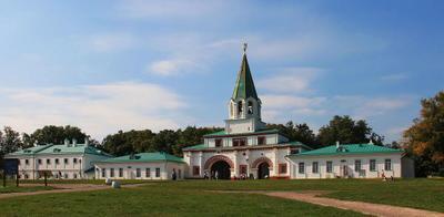 Коломенское лето история парк
