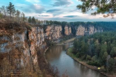 Притёсы на реке Ай